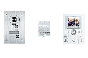 Kit interphone vidéo couleur AIPHONE