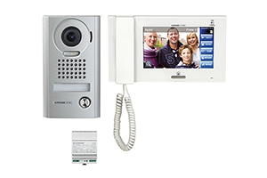 Kit interphone vidéo AIPHONE
