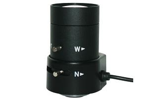 Objectif varifocal 4 à 9 mm