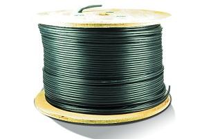 Câble VED-KX6/2x0.75 noir - 150 mètres - NEW