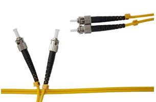 Cordon fibre optique ST-ST duplex