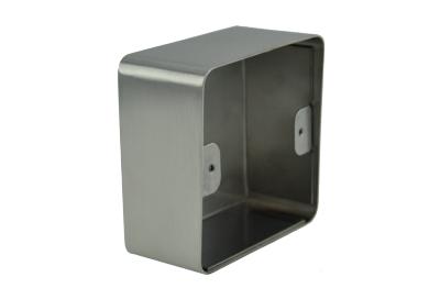Boîtier applique pour bouton poussoir plaque carrée IZYX