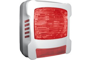 Diffuseur lumineux flash rouge AXENDIS