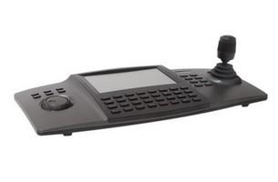 Clavier de commande tactile et joystick IP HIKVISION