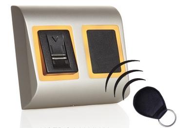 Lecteur biométrique et de badge Mifare 13.56MHz