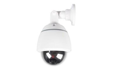Dôme motorisé caméra de sécurité factice