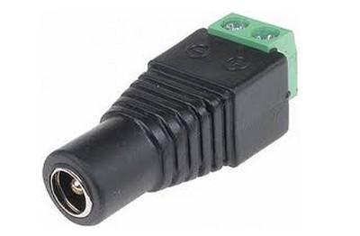 30 connecteurs DC femelle
