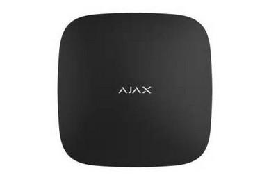 Centrale HUB2 double GSM et Ethernet noir AJAX