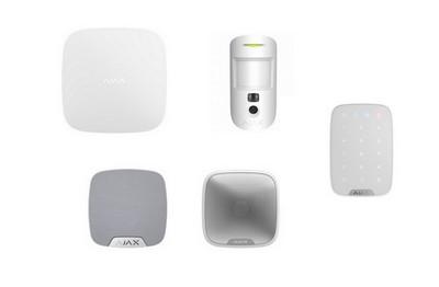 Kit alarme HUB2 blanc AJAX