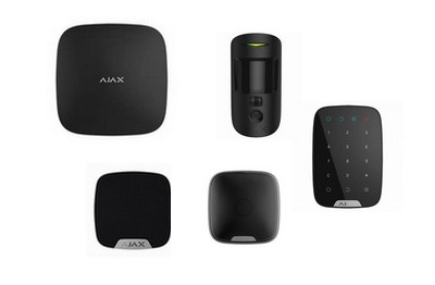 Kit alarme HUB2 noir AJAX