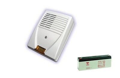 Pack sirène extérieure et batterie NFA2P ATLS