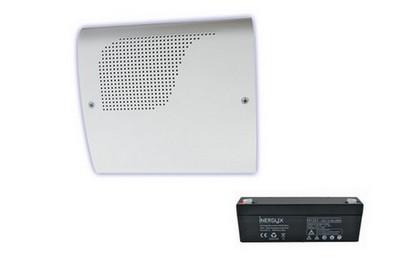 Pack sirène intérieure et batterie ATLS