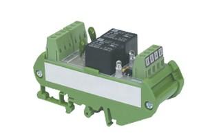 Module relais rail DIN 2 relais/ 230V AC IZYX