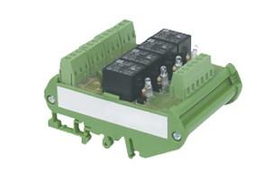 Module relais rail DIN 4 relais IZYX
