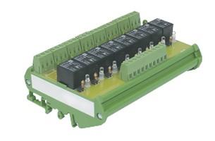 Module relais rail DIN 8 relais IZYX