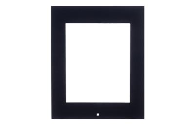 Cadre noir pour lecteur Access Unit en saillie 2N