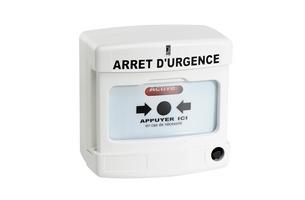 Déclencheur manuel arrêt urgence AXENDIS - AX10040