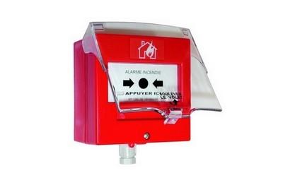 Déclencheur manuel rouge pour équipement alarme NEUTRONIC