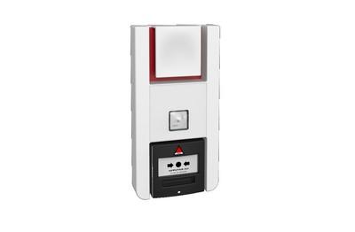 Alarme PPMS à piles avec diffuseur lumineux radio NEUTRONIC