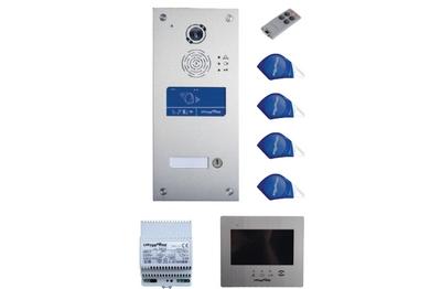Kit vidéo IP/GSM 1 BP avec renvoi vidéo SOONE