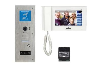 Kit interphone video 1 Boucle magnétique AIPHONE