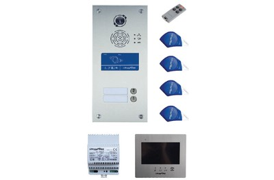 Kit vidéo IP/GSM 2 BP avec renvoi vidéo SOONE