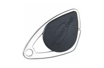 Badge de proximité électronique Mifare noir VIGIK INTRATONE