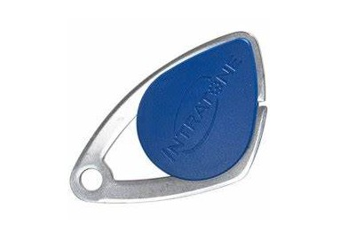 Badge de proximité électronique Mifare bleu VIGIK INTRATONE