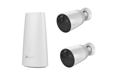 Pack 2 caméras Wifi 2 Mégapixels avec station de base EZVIZ