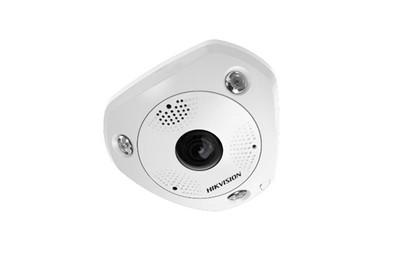 Caméra fisheye IP 360° HIKVISION