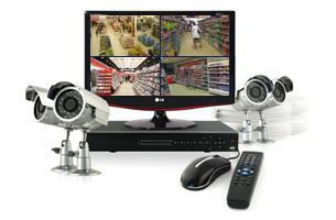 kit 16 cameras surveillance video surveillance kit de videosurveillance vid o starter 16. Black Bedroom Furniture Sets. Home Design Ideas